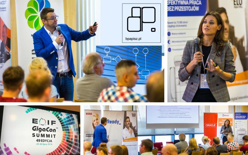 Prezentacja koncepcji #LPPO na EOIF GigaCon SUMMIT 2018 – Warszawa 25 lipca 2018r.